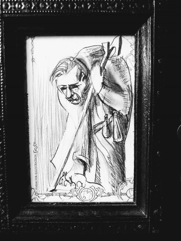 Repurposed character illustration